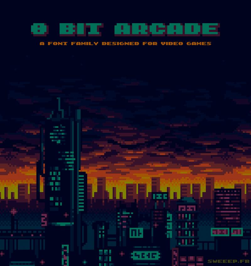 8-bit Arcade In