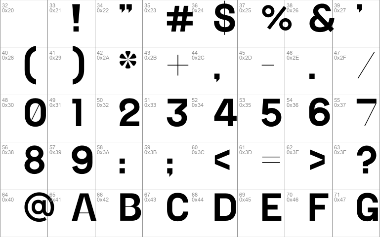 Alterner sans serif