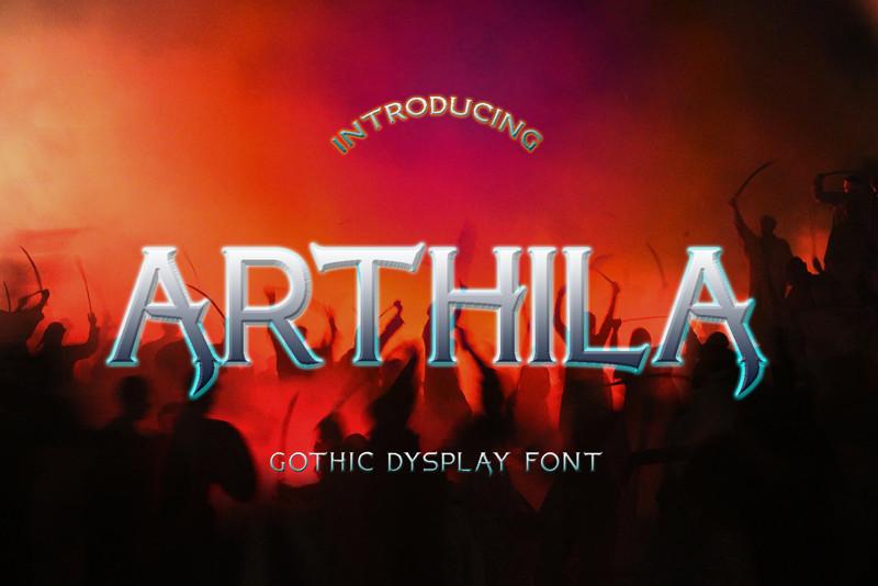 ARTHILA gothic