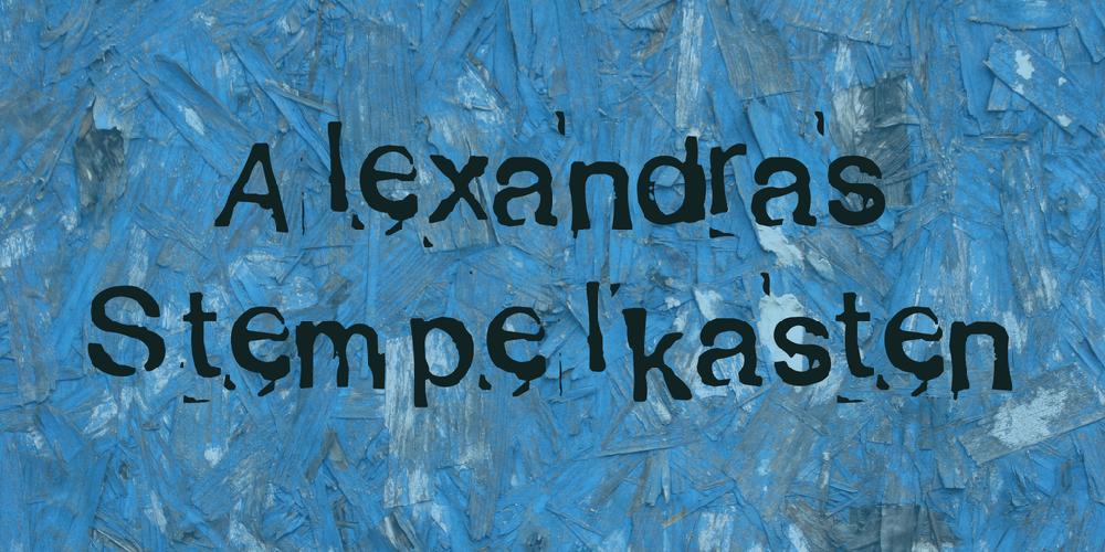 Alexandras Stempelkasten