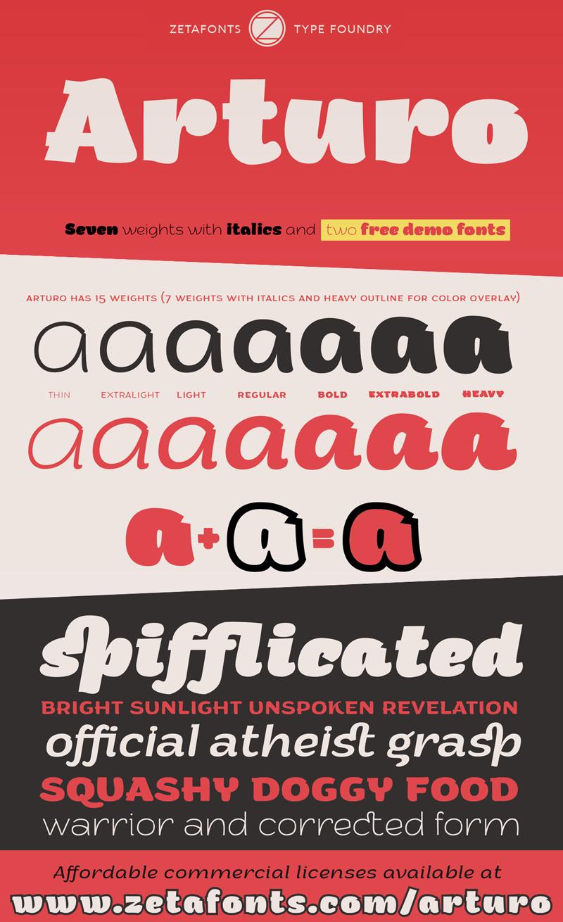 Download Arturo Trial font | fontsme com