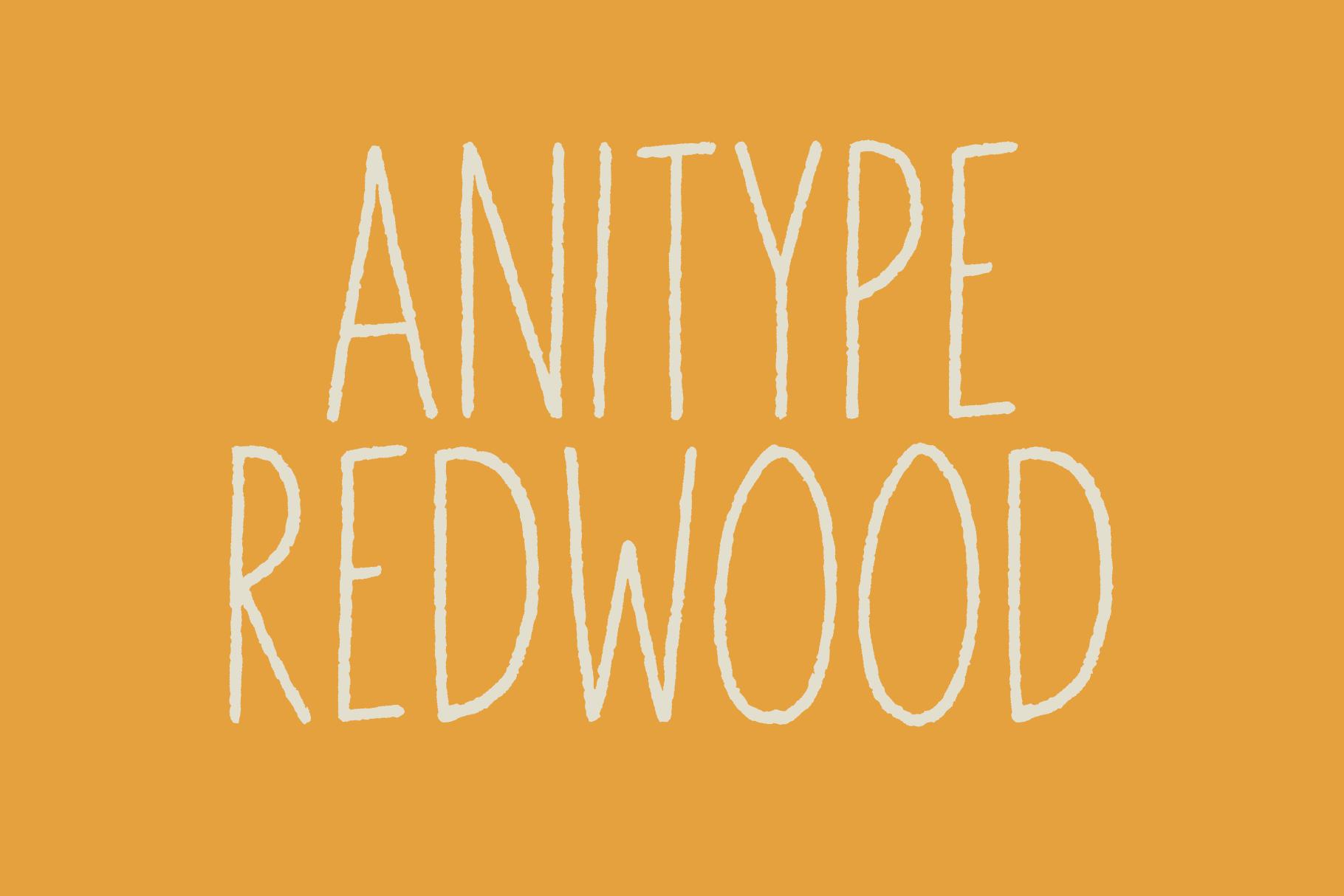 Anitype Redwood