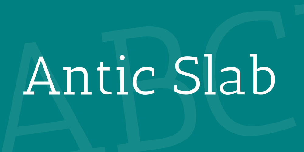 Antic Slab