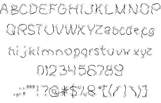 Download AUTUMN font | fontsme com
