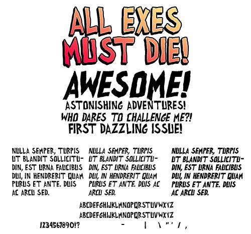 all exes must die!