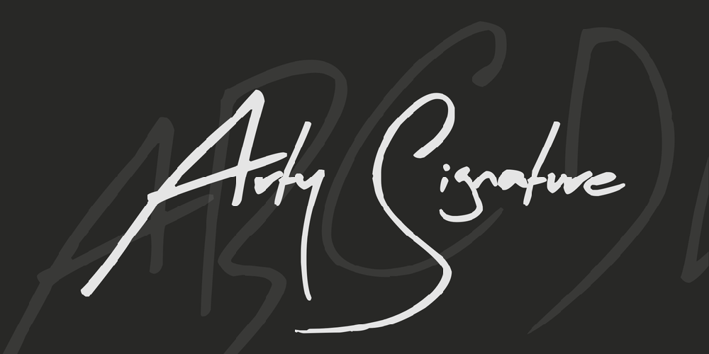 Arty Signature