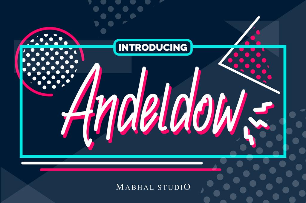 Andeldow handwritten