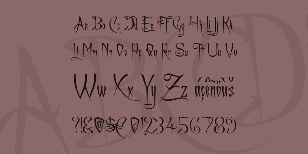 A Charming Font