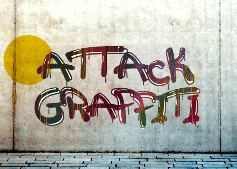 a Attack Graffiti
