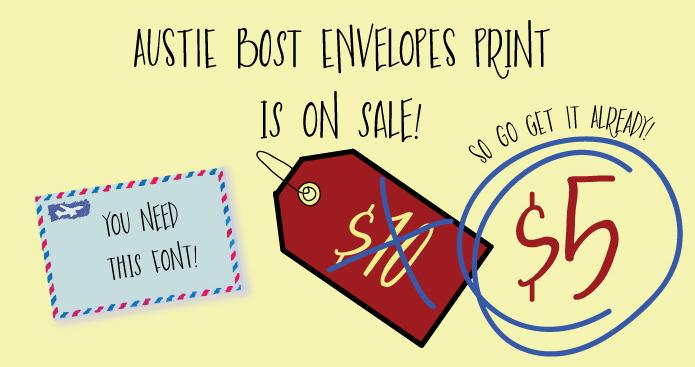 Austie Bost Envelopes Print