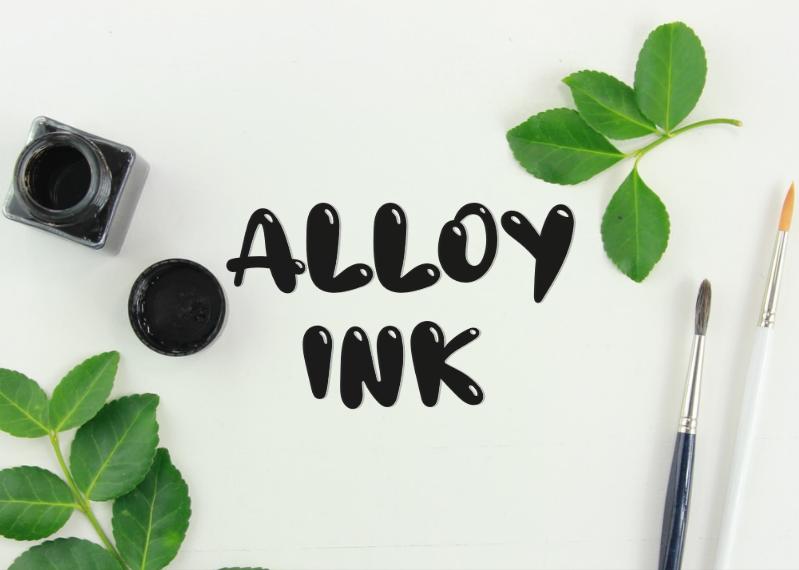 a Alloy Ink