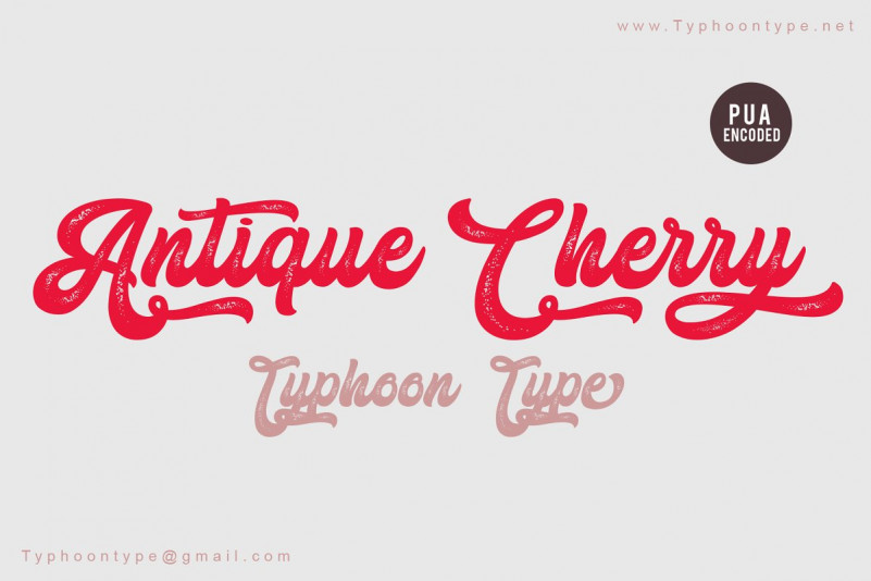 Antique Cherry - Personal Use