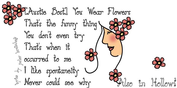 Austie Bost You Wear Flowers