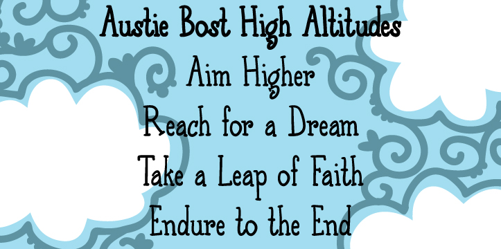Austie Bost High Altitudes