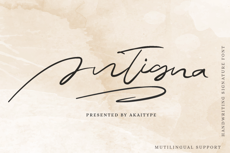 Antigna Signature Free