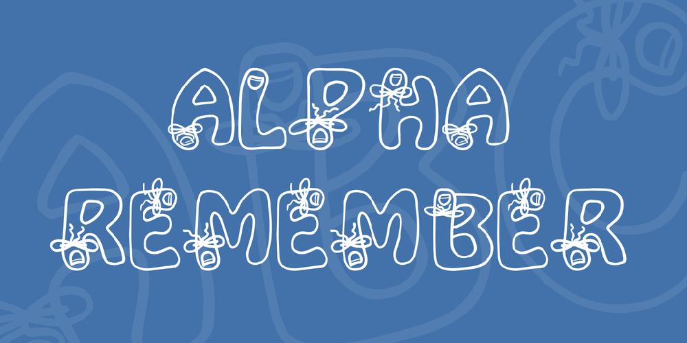 Alpha Remember