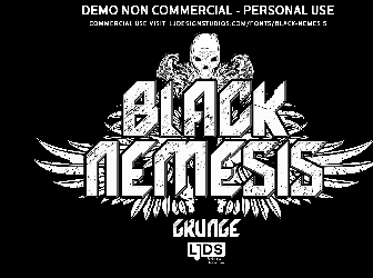 Download 8 deathmetal fonts