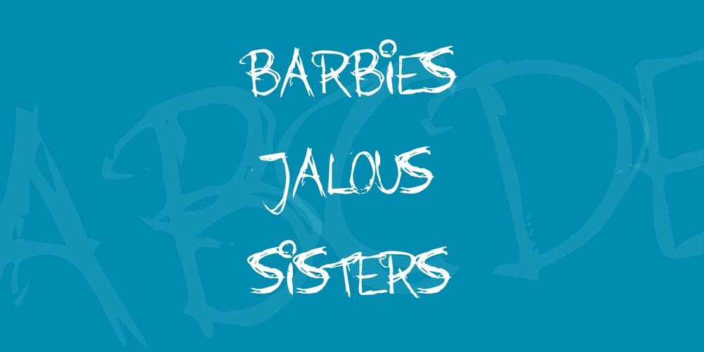 Barbies Jalous Sisters