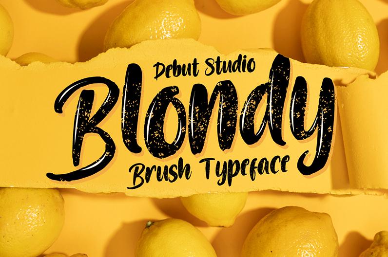 Blondy script