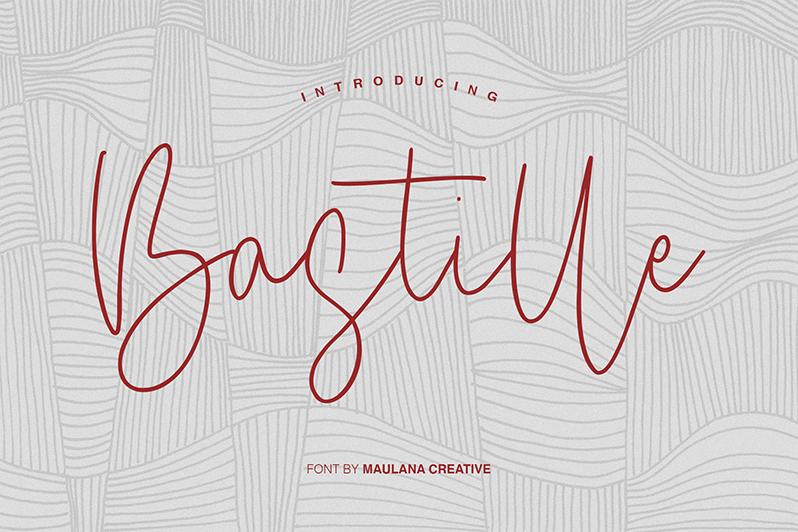Bastille Free Font