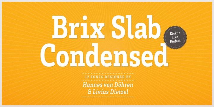 BrixSlab Cond