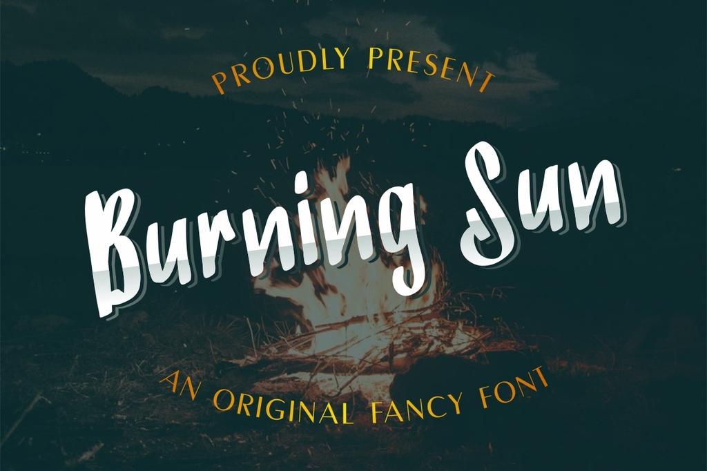 Burning Sun handwritten Demo