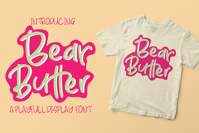 Bear Butter