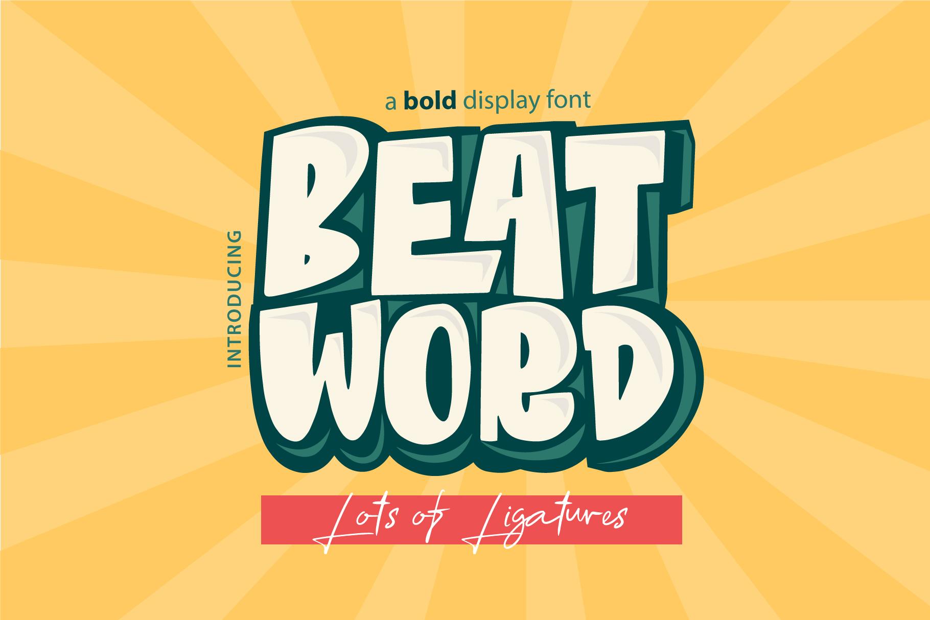 Beat Word demo