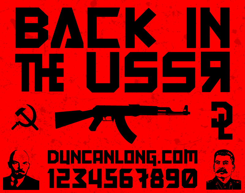 Back In The USSR DL