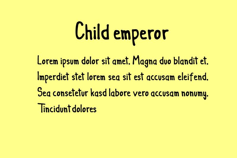 Child emperor