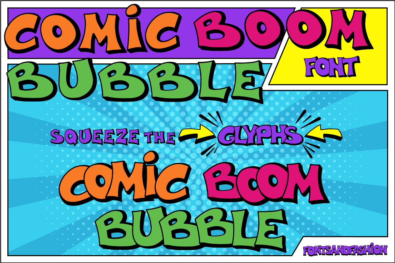 Comic Boom Bubble_DEMO