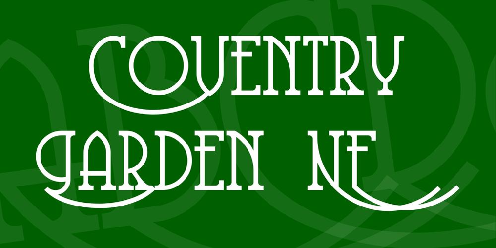 Coventry Garden NF