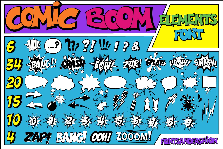 Comic Boom Elements_DEMO