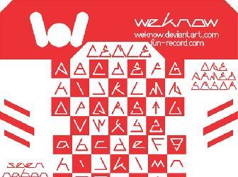 Download 11 Triangle Fonts