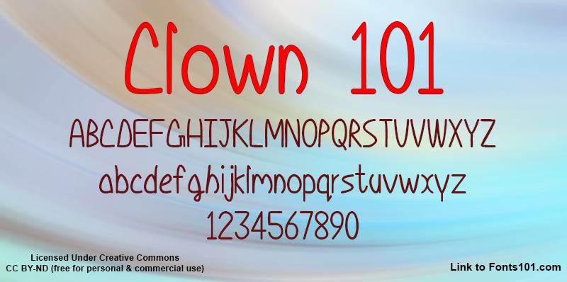 Clown 101