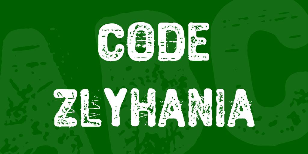 Code Zlyhania