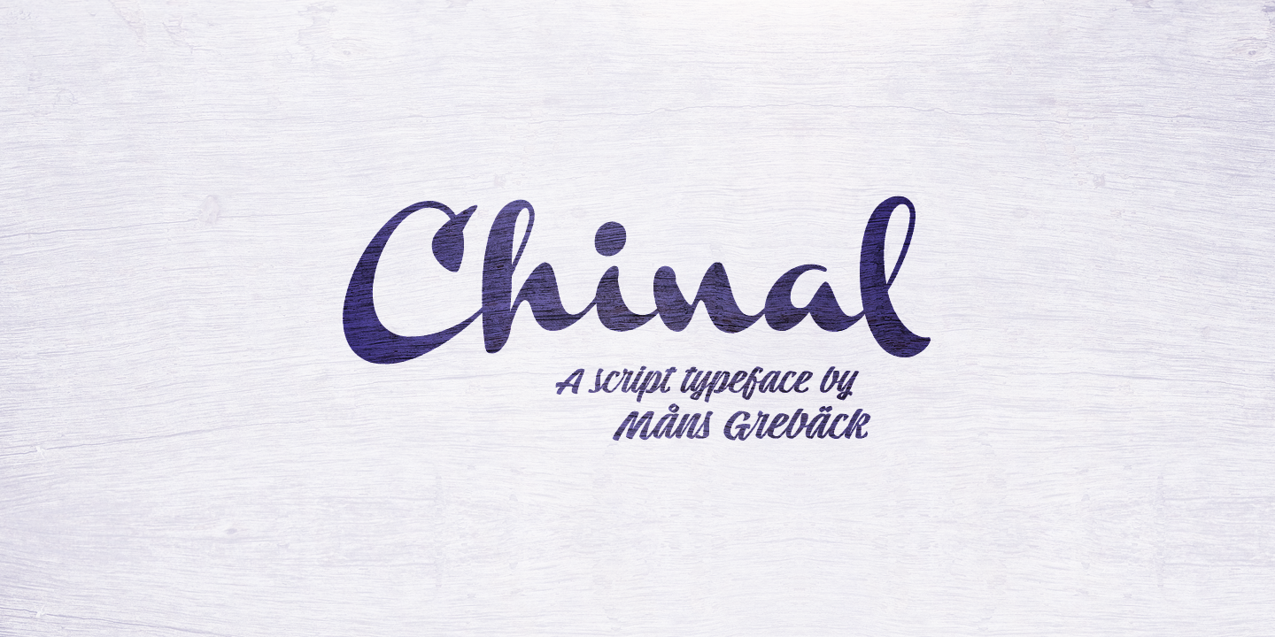 Chinal Black PERSONAL USE ONLY