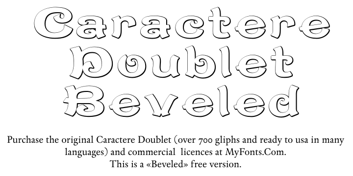Caractere Doublet