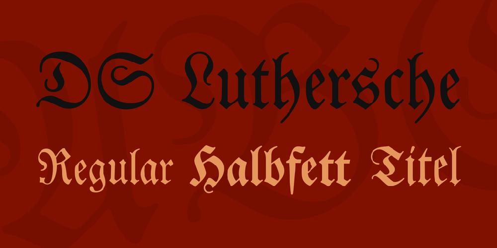 DS Luthersche