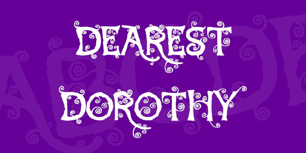 Dearest Dorothy
