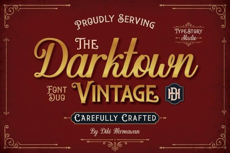 Darktown Script