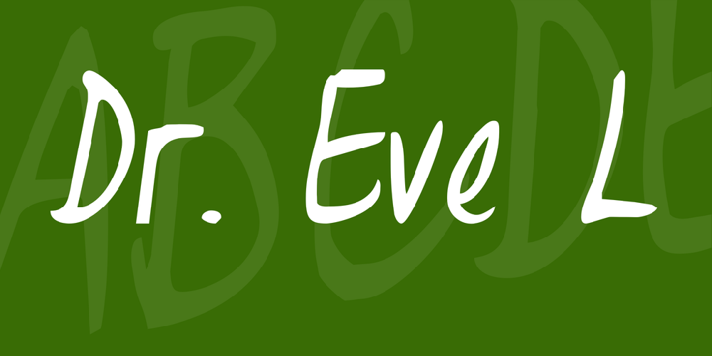Dr. Eve L
