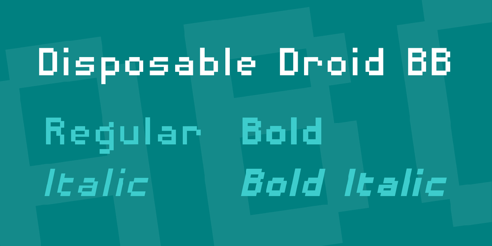 Disposable Droid BB
