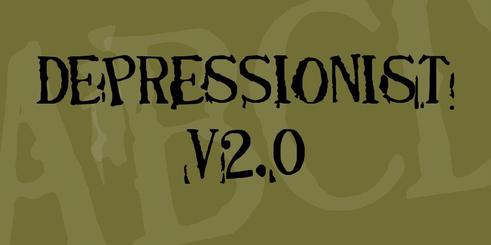 Depressionist v2.0