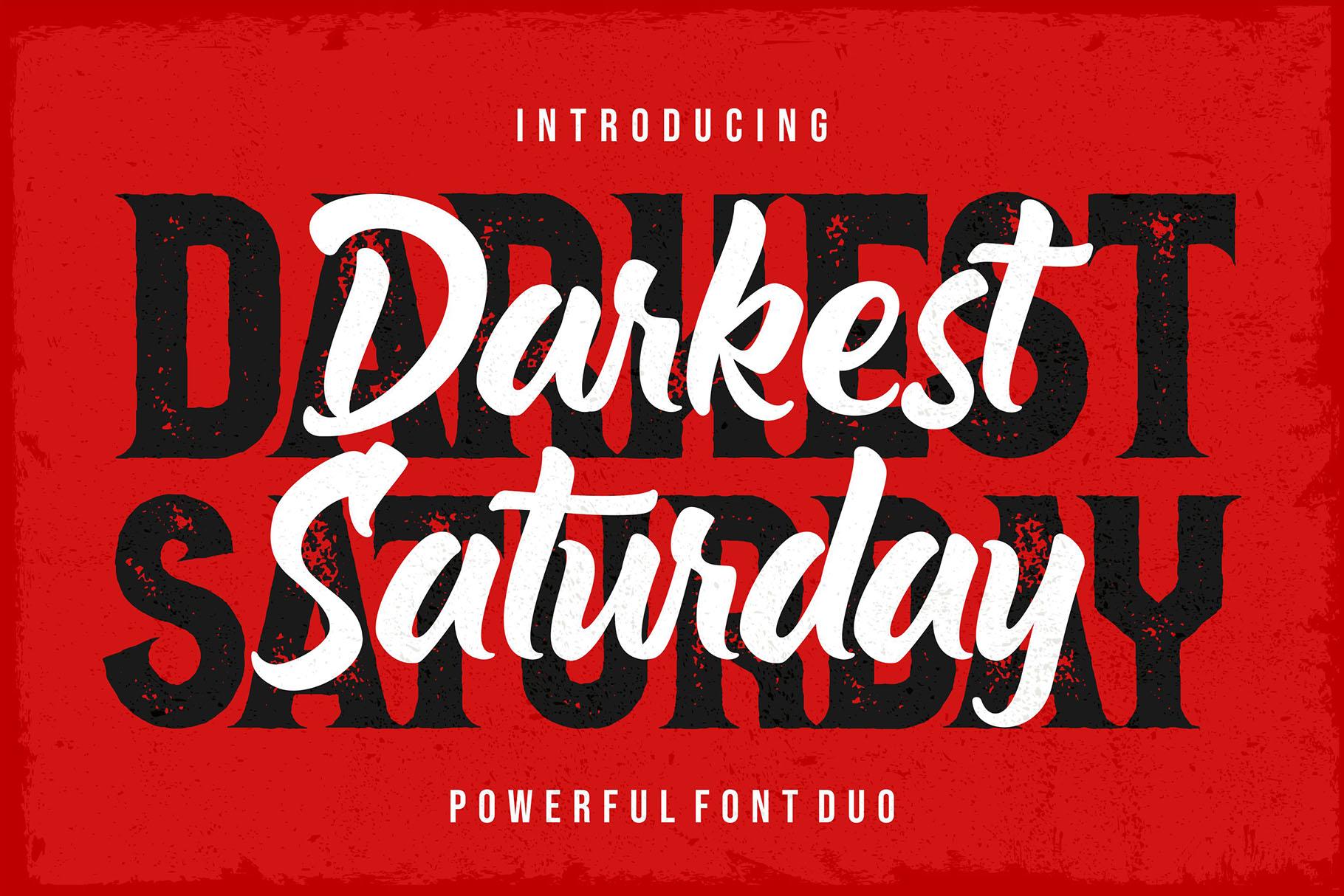 Darkest Saturday Outline