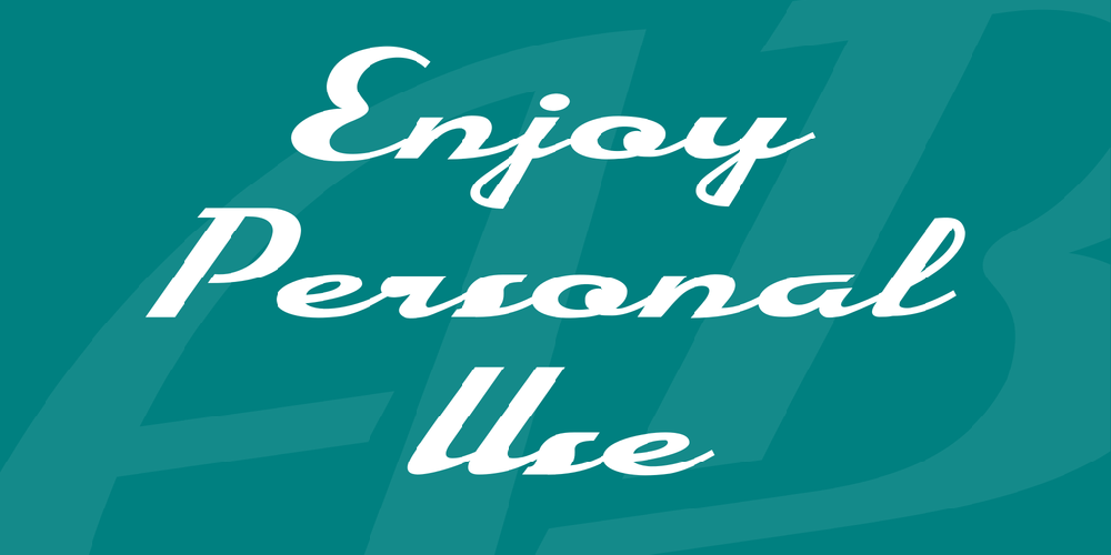 Enjoy Personal Use