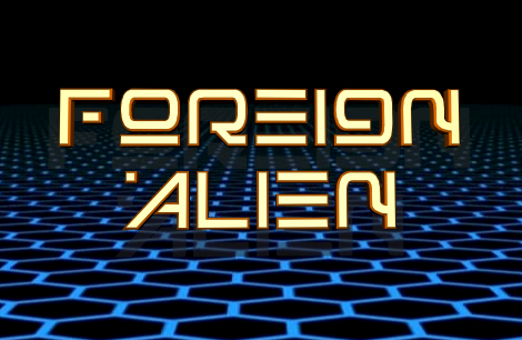 Foreign Alien Extra-Bold Italic