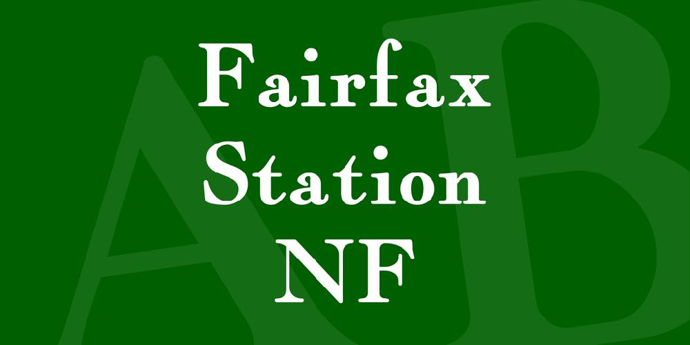 Fairfax Station NF