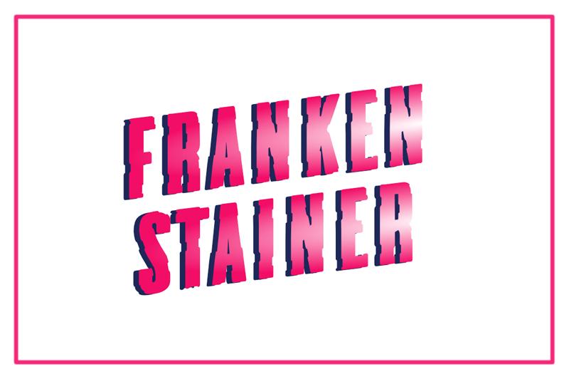 Frankenstainer Demo Font