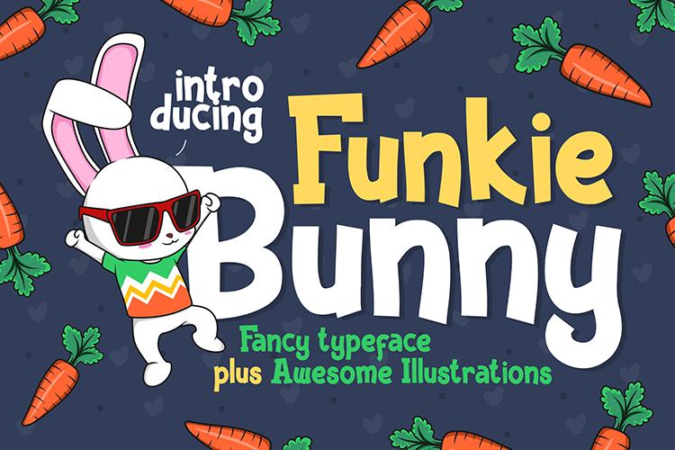 Download Funky Bunny font | fontsme com